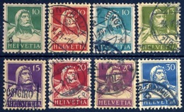 Zwitserland 1914, Switzerland, Suisse, Helvetia, Schweiz, William, Guillaume Tell, SG 279 / 293, YT 138 / 205 - Zwitserland
