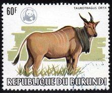 BURUNDI - N° 900 - 60F Oryx WWF - Oblitéré - Used - Burundi