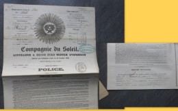 78 BEYNEX 1861, Police Assurance Du Soleil, Renault Fr  ; Ref 914 V30 - France