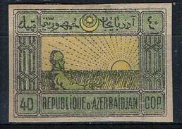 PIA - AZERBAIJAN - 1919 -  Mietitore :  - (Yv 20) - Azerbaijan