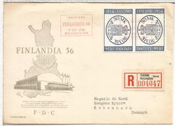 FINLANDIA CC CERTIFICADA EXP FINLANDIA 1956 HELSINKI