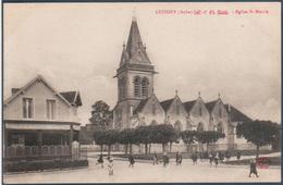 LUSIGNY , église Saint Martin  , Animée - France