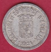 Chambre De Commerce - Evreux 1921 - 10 C - Monétaires / De Nécessité