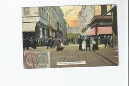 LIEGE RUE DE L'UNIVERSITE  (BELLE ANIMATION) 1907 - Luik