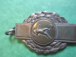 Médaille De Sport/Lancer Du Poids/ Bronze Chromé//  Vers 1920-1940      SPO121 - Athlétisme