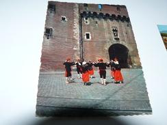 CARTE POSTALE  ROUSSILLON DANSE FOLKLORIQUE CASTILLET SARDANE 66 PYRENEES ORIENTALES - Danses