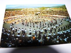 CARTE POSTALE  ROUSSILLON DANSE FOLKLORIQUE CERET SARDANE 66 PYRENEES ORIENTALES - Danses