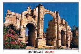 1 AK Jordanien Jordan * South Gate Im Antiken Jerash (auch Gerasa) - Eine Antike Römische Stadt *