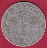 Chambre De Commerce - Alger 1921 - 10 C - Monétaires / De Nécessité