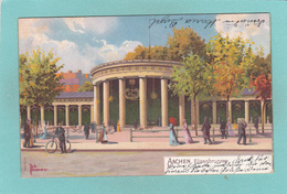Old Postcard Of Aachen, North Rhine-Westphalia, Germany,R37. - Germany