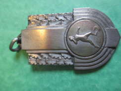 Médaille De Sport/Lancer Du Poids  /Bronze Nickelé Mat /Vers1920-1940  SPO123 - Athlétisme