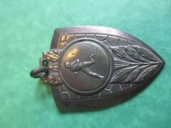 Médaille De Sport/Course à Pied /Bronze Nickelé Mat /Vers1920-1940           SPO124 - Athletics