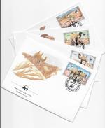 Enveloppes FDC 1985 4 Enveloppes - FDC