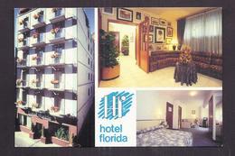 CPSM ANDORRE - ANDORRA LA VELLA - HOTEL FLORIDA - TB CP Multivue TB PLAN Façade + Intérieur - Andorre