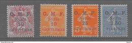 Syrie - Y Et T N° 83, 84, 85, 87,tous** (M. N. H.) - Lot De 4 - T.T.Beau - Syria (1919-1945)