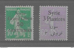 Syrie - Y Et T N° 90, 138,,tous** (M. N. H.) - Lot De 2 - T.T.Beau - Syria (1919-1945)