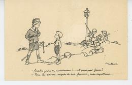 Illustrateur POULBOT - Jolie Carte Fantaisie Enfants Sur Le Thème De La GUERRE 1914-18 - Poulbot, F.