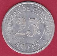 Chambre De Commerce - Amiens 1920 - 25 C - Monétaires / De Nécessité