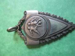 Médaille De Sport/Foot-Ball /Bronze Nickelé  / /Vers1930- 1950      SPO129 - Football
