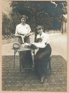 Magdeleine Marie Anne Louise Foulon (née De Burbure De Wesembeek), Infirmières Croix Rouge - 2 Scans - Personnes Identifiées