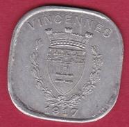 Chambre De Commerce - Vincennes 1917 - 20 C - Monétaires / De Nécessité