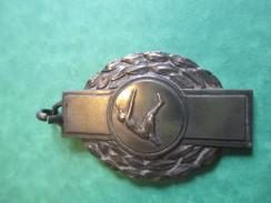 Médaille De Sport/Saut En Hauteur/Bronze Nickelé/ /Vers1930- 1950      SPO131 - Athlétisme