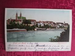 GRUSS AUS BASEL . 1899 - BS Bâle-Ville