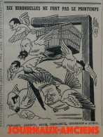 1941 Journal GRINGOIRE - COLLABORATION - N° 644 - A VOIR - Documentos Históricos