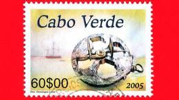 CAPO VERDE - Usato - 2006 (2005) - Archeologia - Patrimonio Culturale Sottomarino -  60 - Isola Di Capo Verde