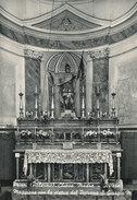 PRIZZI (PA) LA CHIESA MADRE - ALTARE MAGGIORE CON LA STATUA DEL PATRONO - SAN GIORGIO MARTIRE 1957 - Palermo