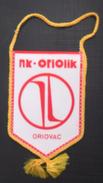 NK ORIOLIK ORIOVAC CROATIA FOOTBALL CLUB, CALCIO OLD PENNANT, SPORTS FLAG - Uniformes Recordatorios & Misc