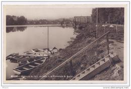 MOISSAC Bassin Du Tarn, Les Voies Et La Promenade Du Moulin - Circulée 1946 - 2scans - Bon état - Moissac