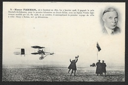 Henry FARMAN Sur Biplan Voisin (Ligue Aéronautique De France) - Aviatori
