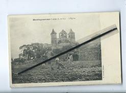 CPA  - Montagnac Sur Lède -  (L-etG.) - L'Eglise - France