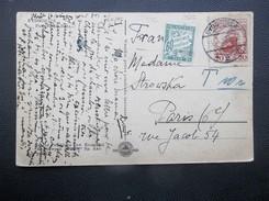 Poland: 1927 PPC To Paris (#RP6) - Briefe U. Dokumente