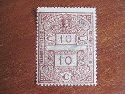 Belgium 1924 Taxes Fiscales Stamp Watermarks MNG Rare - Other