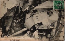 TOULON (83) Explosion Du LIBERTE Le 25 Septembre 1911 - Belle Carte Postée - Toulon
