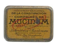 G-I-E, Boite , Traitement De La Constipation , MUCINUM , Laboratoires CHANTEREAU , Paris , 5 X 4 Cms , Frais Fr : 2.45 & - Scatole