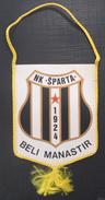 NK SPARTA, BELI MANASTIR CROATIA FOOTBALL CLUB, CALCIO OLD PENNANT, SPORTS FLAG - Uniformes Recordatorios & Misc