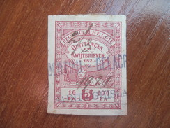 Belgium  Quittances Kwijtbrieven 5c - Revenue Tax Stamp - Receipt - USED - Other