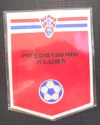 HNS PREDSTAVNIK KLUBA, HRVATSKI NOGOMETNI SAVEZ CROATIA FOOTBALL FEDERATION, CALCIO PLASTIFICIAL LABEL - Uniformes Recordatorios & Misc
