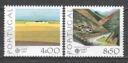 Portugal 1977 Mi 1360-1361 MNH EUROPA CEPT - Europa-CEPT