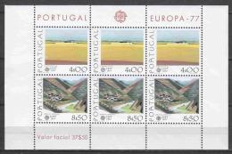 Portugal 1977 Mi Block 20 MNH EUROPA CEPT - Europa-CEPT