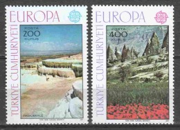 Turkey 1977 Mi 2415-2416 MNH EUROPA CEPT - Europa-CEPT