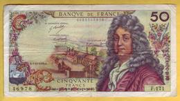 BILLET FRANCAIS - 50 Francs Racine 5-11-1970 TTB - 1962-1997 ''Francs''