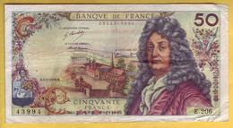 BILLET FRANCAIS - 50 Francs Racine 4-1-1973 TTB - 1962-1997 ''Francs''