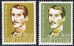 Portugal - En L'honneur Du Poète José-Joaquim De Cesario Verde 841/842 ** - 1910-... République
