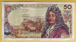 BILLET FRANCAIS - 50 Francs Racine 3-5-1973 TTB - 1962-1997 ''Francs''