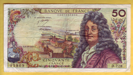 BILLET FRANCAIS - 50 Francs Racine 4-10-1973 TTB+ - 1962-1997 ''Francs''