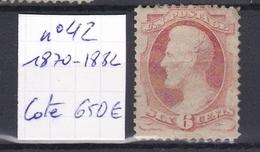 USA - 1870/1882 - N°42 - Oblitérés